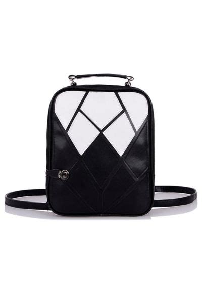 Color Block Faux Leather Backpack 159 best s bags images on fashion bags