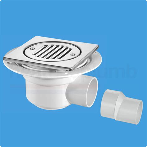 Seal Water 150 mcalpine tsg1t6ss trapped gully water seal 150mm square
