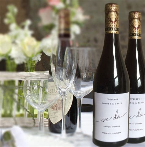 1000 ideas about wedding wine labels on pinterest