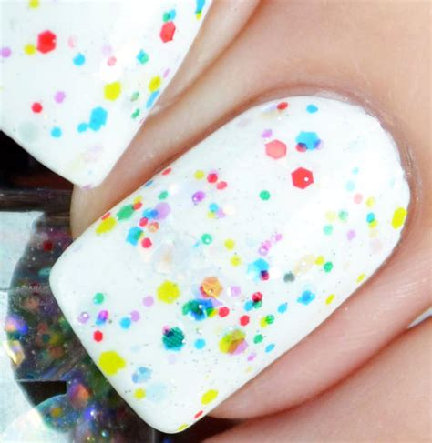 Colorful Twinkle items similar to twinkle lights colorful glitter nail topper nail topper w