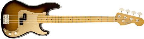 Fender Precission fender 50s precision bass 174 maple fingerboard 2 color