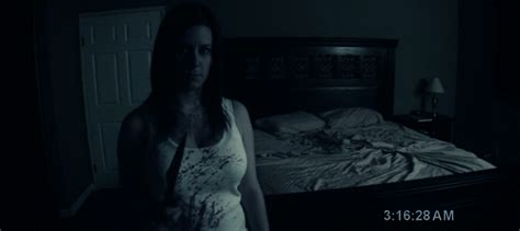 scary movie bedroom scene paranormal activity people were scared of this odyssey