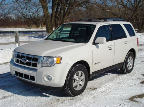 ford escape hybrid limited 4wd review and test drive