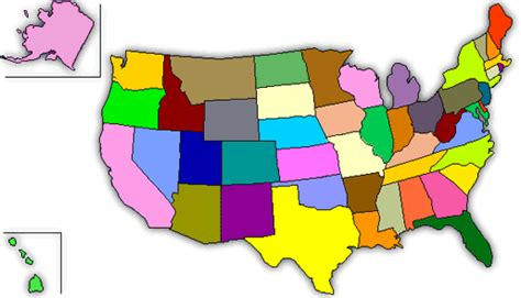 map us states no names california apple commission
