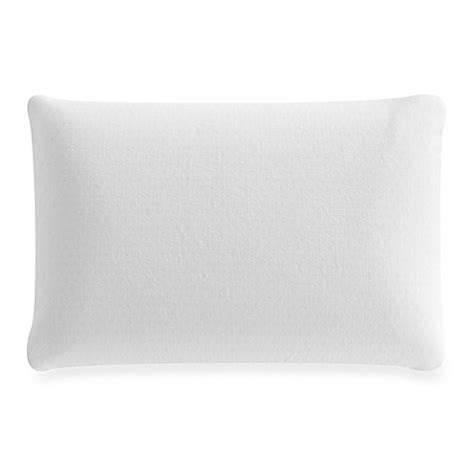foam rubber bed pillows latex foam pillow in white bed bath beyond