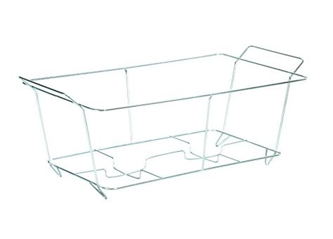 food warmer wire rack sterno 70152 chafing dish wire rack silver home garden