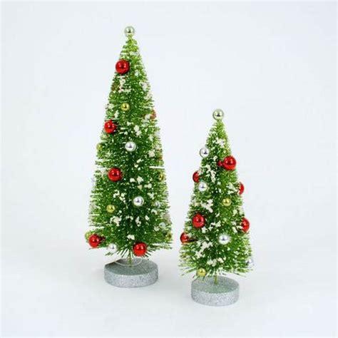 fully assembled 2 pc nol christmas small tree set nova68 com