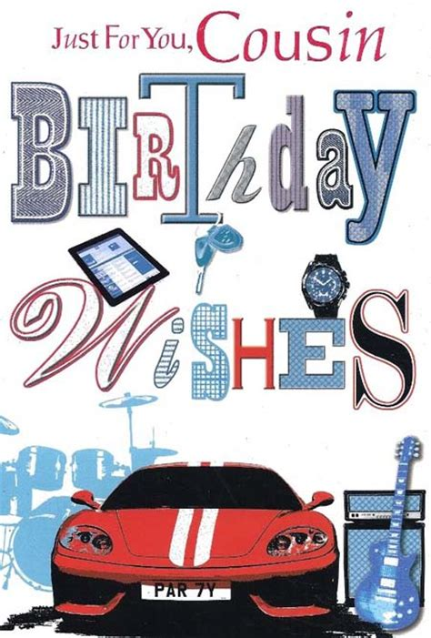 Birthday Quotes For Boy Cousin Happy Birthday Male Cousin Quotes Quotesgram