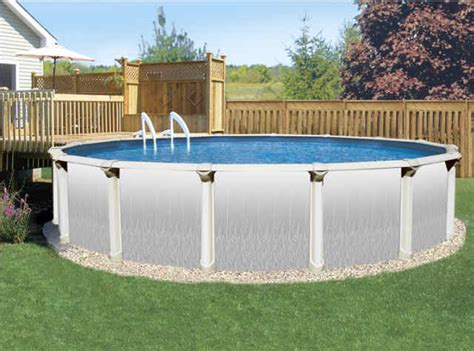 How To Decorate An Above Ground Pool by Above Ground Pools Doughboy Doughboy Pools Review