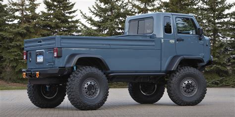 jeep prototype truck six times jeep teased us with a pickup truck concept