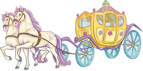 carrozza principesse adesivi murali carrozza leostickers