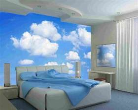 Wall Murals Bedroom Large Wall Mural Clouds Kidskid In The Mural