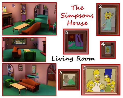 simpson tea house mod the sims the simpsons house 742 evergreen terrace springfield