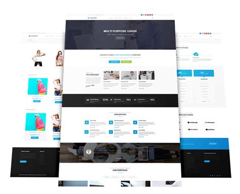 template joomla business convert multi purpose business joomla template