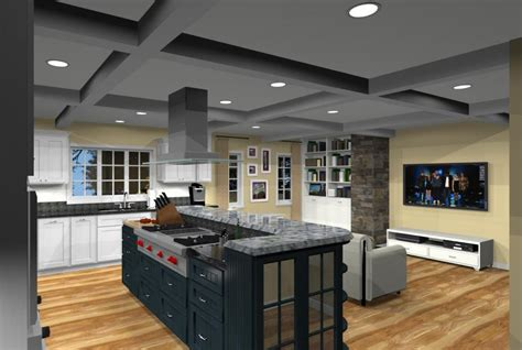 kitchen family room open floor plan kitchen addition with open floor plan in monmouth county