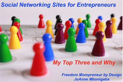 Top Social Entreprenureship Mba by Social Networking For Entrepreneurs My Top 3 And Why