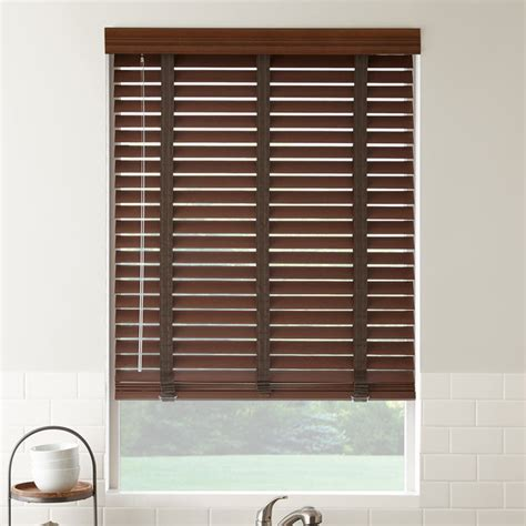 Window Treatments Blinds 2 Quot American Hardwood Wood Blinds Contemporary Window
