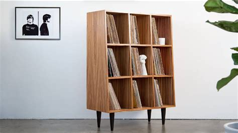 coolest vinyl record storage units   luno