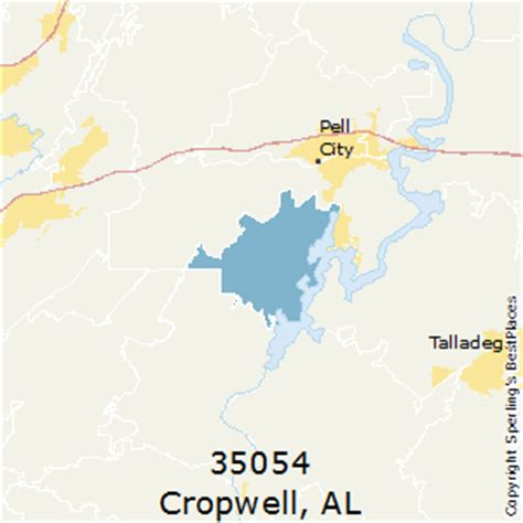 Section Alabama Zip Code by Best Places To Live In Cropwell Zip 35054 Alabama