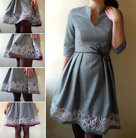 sleeve pattern notches free sewing pattern woman s dress with notch neck 3 4