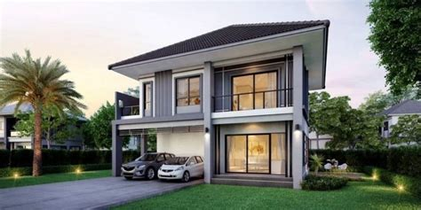 elegantly finished  bedroom  story house design pinoy eplans