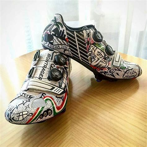 Handmade Designer Shoes - 48 best custom painted cycling shoes images on