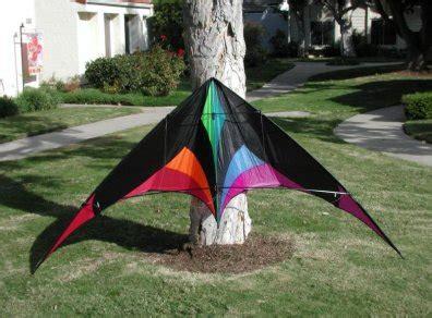 blue moon kites mamba sport kite black rainbow