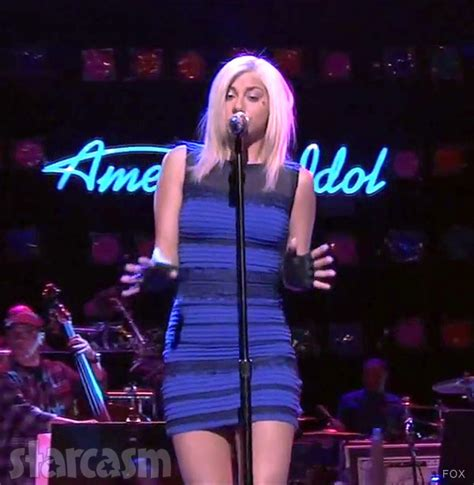 jax on idol hairdo video photos jax wears the dress on american idol