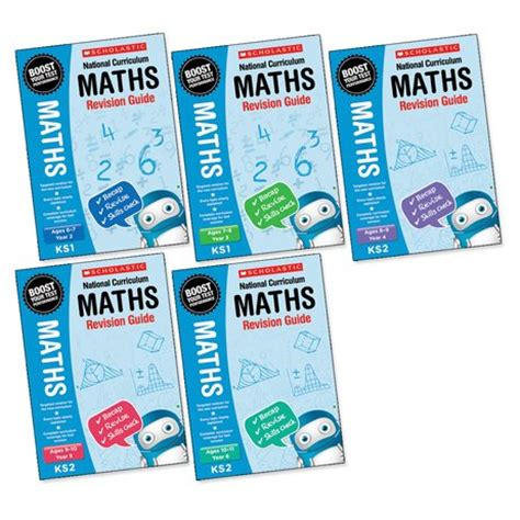 libro national curriculum maths practice national curriculum revision maths revision guides years 2 6 set x 30 150 books scholastic shop