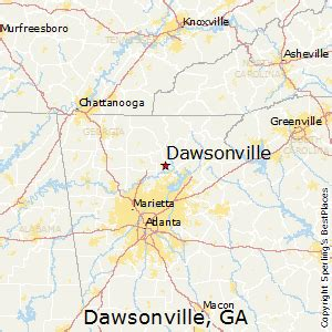 best places to live in dawsonville