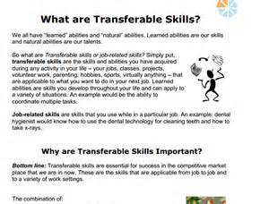 Transferable Skills Resume Exle by Resume Writing Transferable Skills Dissertation Berkeley