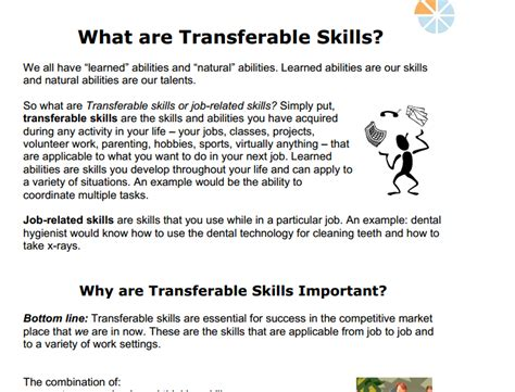 Transferable Skills Resume Exle by Resume Writing Transferable Skills Dissertation Berkeley Eecs Quotes Before Essay Consultspark