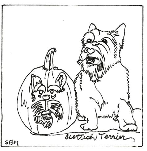 halloween coloring pages dog free coloring pages of scottie dogs