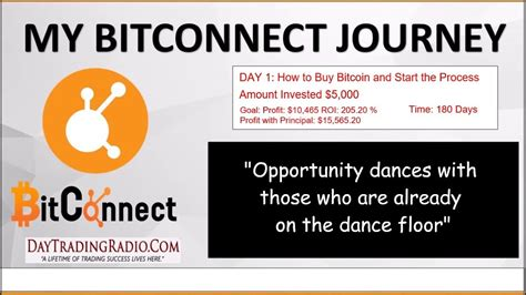 bitconnect journey follow my journey of using bitconnect to make 200 on my