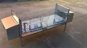gabbia per conigli zoopiro gabbia per conigli fattrici 2 posti