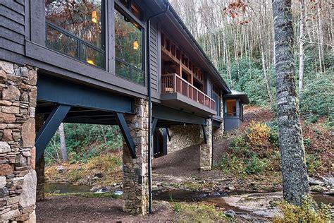 Bridge Cabin by Bridge House Home Across A