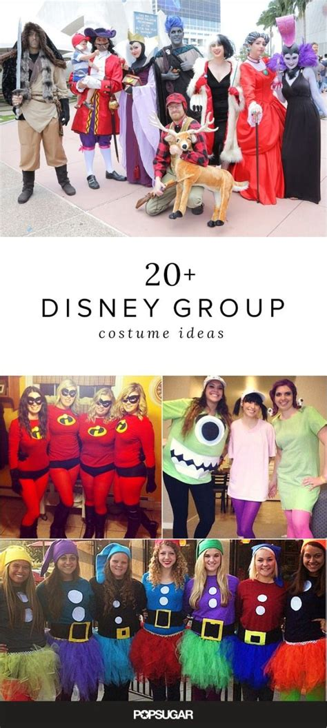 group disney costume ideas     squad