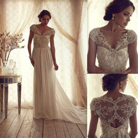lovely photos of wedding dresses with beaded