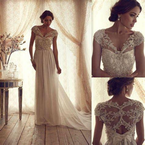 beaded cap sleeve wedding dress beaded v neckline wedding dress with cap sleeves sang