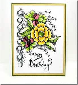 in a world of craft birthday card original art
