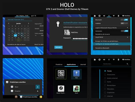 android themes for ubuntu 12 04 holo android ice cream sandwich like theme pack for gnome