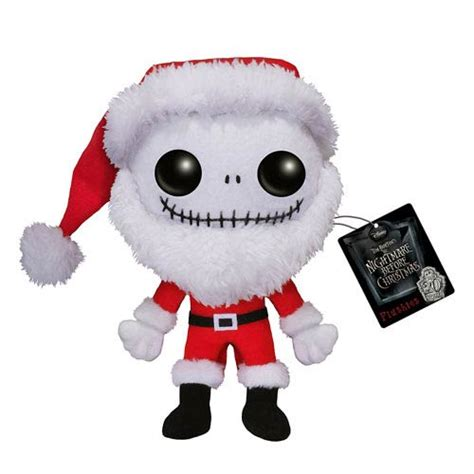 nightmare before christmas santa skellington pop
