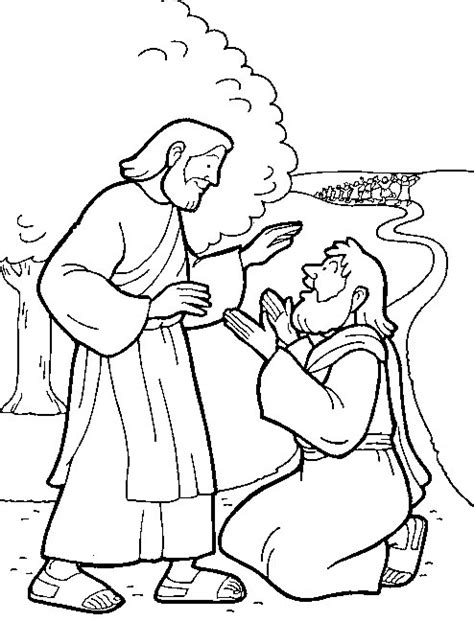 coloring pages jesus heals 10 lepers 10 lepers on jesus heals jesus and sons