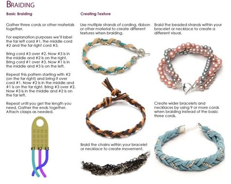 braided bracelet jewelry techniques cousin corporation