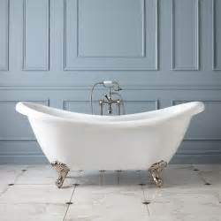 69 quot acrylic clawfoot tub imperial bathroom