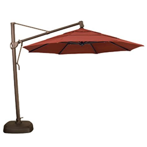 Side Patio Umbrella by Cantilever Umbrella 11 Ft Side Post