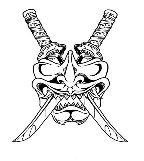 samurai tribal tattoo collection of 25 tribal samurai mask design