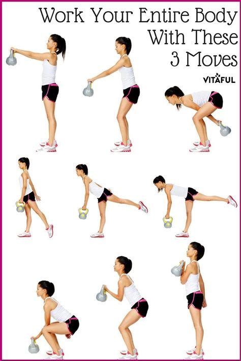 25 best ideas about kettlebell workout routines on