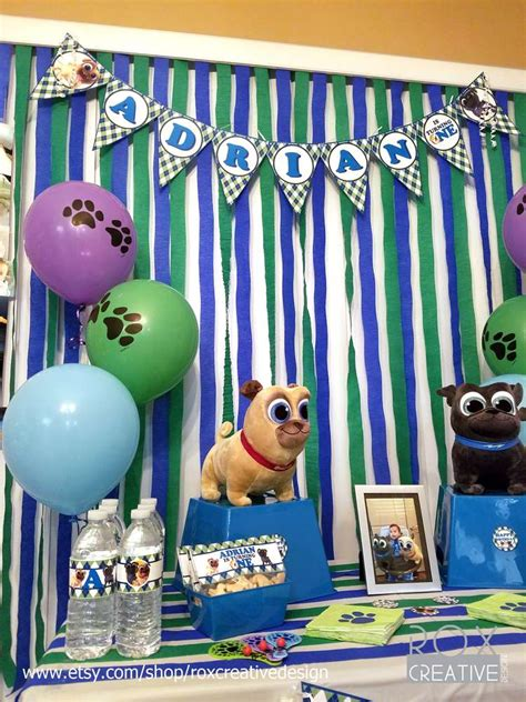 puppy pals birthday decorations puppy pals birthday ideas photo 9 of 21 catch my