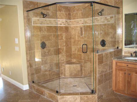 Corner Stand Up Shower Units Frameless Shower Doors Lewis Glass Company